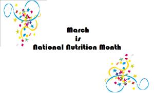 March NNM Announcement