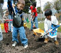 Children Gardening 1