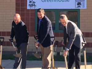 LHS Greenhouse Ground Breaking Event